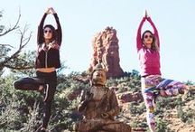 Yoga + Wanderlust / Channel your chakras with mood boosting yoga and wanderlust vibes. // Radiate positive energy with RainbowOPTX sunglasses.
