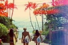 Tropical Travel Vibes / Tropical. Travel. Beach. Repeat. // Always in a tropical state of mind at RainbowOPTX.com.