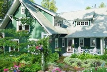 cabins & cottages & farmhouses / by mary b