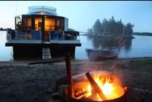 Voyageurs National Park / Houseboating on Voyageurs National Park, land of a thousand lakes