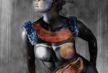 Body Painting  Art by Claudia Lucia / A selection of my work and inspiration from other artists