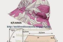 Pattern: hats & mittens   Крой: головные уборы и перчатки