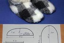 Pattern: shoes   Крой: обувь