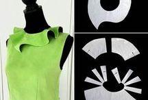 Pattern design: neclines and collars   Моделирование: воротники и вырезы
