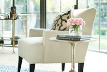 Accent Chairs / Whether off to the side or a central focus in your room, accent chairs enhance the style in any space while adding ever-helpful extra seating.