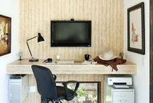 Ideas for your Home Office / Working from home? Here's how to design a space to stay focused in.