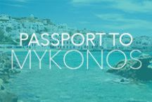 Destination: Mykonos / Wear to Where: Travel & style inspiration for Mykonos, Greece. For an insider guide, head to vacationstyle.com and #JetSetShop #Mykonos #VacationStyle