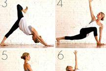 Yoga / Yoga Poses, Workouts, and Tips!