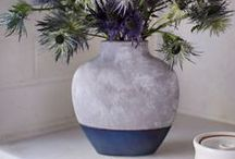 Vases   Plants   Flowers / No floral arrangement is complete without the perfect display. Whether using a traditional vase, a jar, or a canister, show off your flowers in a piece that compliments their beauty.
