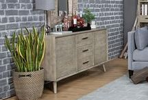 Sideboards   Servers   Buffets / Display your décor while storing entertaining essentials with a sideboard, server, or buffet.