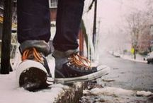 Whether The Weather / Year round style. Converse for your cold weather adventures.