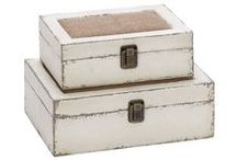 Decorative Boxes / Find more at LivingSpaces.com.