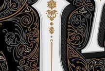 illustration: ornaments & backgrounds   Иллюстрации: орнаменты и фоны