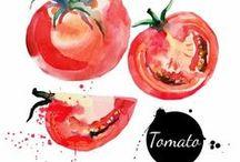 Illustration: cook & food & drink   Иллюстрации: готовка, еда и напитки