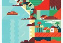 Illustration: maps & plans   Иллюстрации: карты и планы