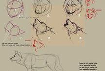 Drawing: tutorial   Рисование: уроки