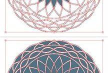 Vector: patterns & backgrounds   орнаменты и фоны