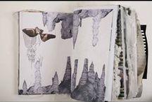 // inspiration : art & photo journals / // art journals, photo journals, planners, midori, hobonichi, scrapbooks....