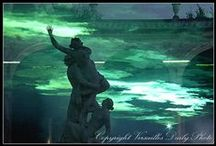 Versailles: the gardens - the fountains - L'orangerie - the statues