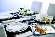 Tables dressées Chef&Sommelier / Arts de la table Assiettes, verres, couverts Gastronomie