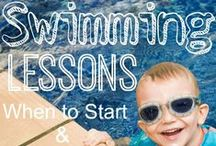 Mother and Baby Swim : Simply Swim / Start them young, learning to swim is important.  / by Simply Swim