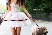 SHERRI HILL / These dresses are unique and very interesting and must have all around the world :)