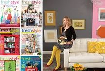 Fresh Style / fresh style is a magazine that celebrates life, style, and creative minds. This special issue publication features quick and easy projects, tips from the experts, and tons of ideas on how to fill your space with personalized decor. From handmade jewelry to baby gifts and home accents to garden delights, this colorful collection will become your go-to guide for DIY style.