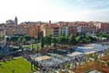 Panoramic View / Le Boscolo B4 Nice Plaza & Nice city : Sea, gardens and old town