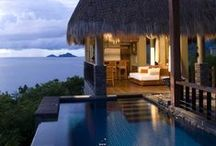 MAIA LUXURY RESORT & SPA, Mahe, Seychelles / Villas have been purposefully designed to stimulate your senses – with views that are unforgettable and with textures and flawless attention to detail that will surprise you. Gracious. Spacious. Secluded. Sublime.