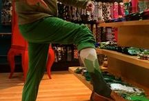 Wearing of the Green / Socks for St. Pat's or any day you feel like wearing a wee bit o' green!