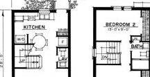 building plans - épület alaprajzok