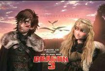Как приручить дракона 1и 2
