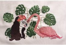 Handmade Embroidery / #embroidery