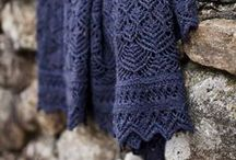 Knitting | Shawls, wraps / by Stitch-N-Smile.com | Coralie Grillet