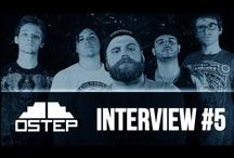 Interviews OSTEP / Interviews réalisées par notre équipe auprès de différents groupes de rock.