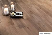 Focus on | WOOD inspiration / Porcelain tiles surfaces inspired by natural wood. #AtlasConcorde