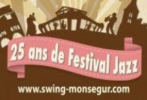 Les 24 heures du Swing 2014 / 25ème Festival Jazz des 24 heures du Swing 2014. Le  04, 05 et 06 juillet 2014  à Monségur en Gironde.