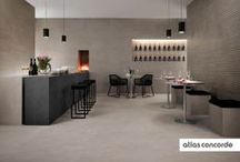 Stone look | essential style | Atlas Concorde / Advance is the most evolved aesthetic expression of an accurate selection of natural stones, for a porcelain tile collection where natural inspiration merges with timeless contemporary style.