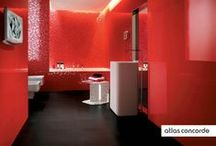 Trendy Walls | Bathrooms | Atlas Concorde / Thanks to its intense, rich and dazzling hues and to its sophisticated, unconventional decorations, Adore ventures into a liberal, multi-style interpretation of the space, focusing on a precise personalization of each project. / by Atlas Concorde