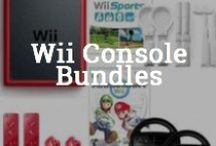 Wii Console Bundles / Wii U - Wii and Nintendo Wii games, consoles & bundle deals, Get free & fast shipping plus resource guides, reviews, videos - at the Wii and Wii U Superstore: http://www.wiishopexpress.com/ / by IShopExpress