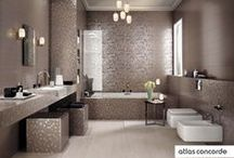 Charming Bathroom | Wall Design | Atlas Concorde / The charm of the most precious interior design fabrics is brought up to date in a wall cladding with a cosmopolitan character, for bathrooms and wellness areas of unmistakeable style. / by Atlas Concorde