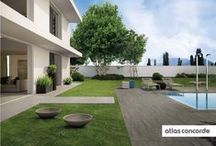 Outdoor Design | Outdoor Paving | Atlas Concorde / PREMIUM THICKNESS FOR PREMIUM PERFORMANCE  / by Atlas Concorde