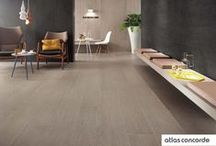 Wood look | nordic style | Atlas Concorde / Bord is a series of wood look floor tiles characterised by natural veining and subtle shade-on-shade colour variations. Perfect for indoor and outdoor floors of elegant venues and contemporary design spaces. / by Atlas Concorde