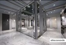 Atlas Concorde at Cersaie 2014 / New design projects in a space dedicated to contemporary hospitality. / by Atlas Concorde