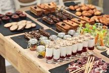 PARTY BUFFET FOOD / Ideas for buffet food.  Cocktails, Mocktails, recipes for finger food.