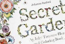 desenhos jardim secreto