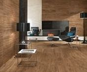 * Inspiration gallery | wood look vigorous appeal / The marked character of original and prestigious wood essences breathes new life on the surface of extremely natural and elegant porcelain tiles, for indoor and outdoor areas with cutting edge design.
