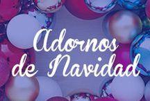 Adornos de Navidad / ¡Bienvenida, Navidad! Encuentra todo lo que necesitas para decorar tu hogar estas fiestas: http://bit.ly/1kTljlV