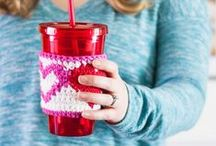 Valentine's Day / Recipes, crafts, crochet patterns, and DIY tutorials for Valentine's Day -- lots of pink, red, and hearts