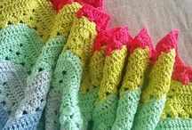 Crochet - Blankets and Afghans / Free patterns and inspiration for handmade, crochet baby blankets, lap blankets, and afghans!